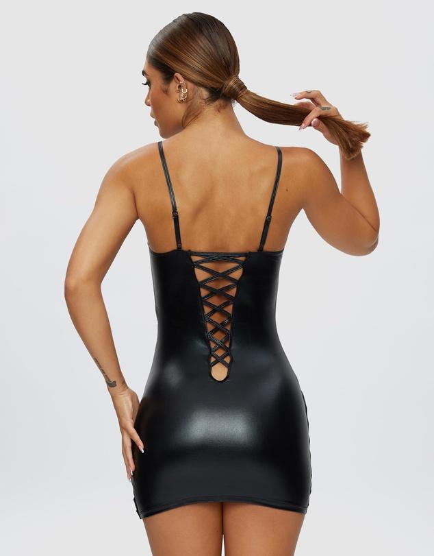 Women Samara Wet Look Dress