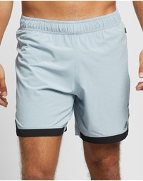 New Balance - Q Speed Run Crew Shorts