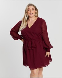 Atmos&Here Curvy - ICONIC EXCLUSIVE - Pru Wrap Dress