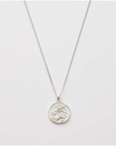 Kirstin Ash Sagittarius Zodiac Necklace Sterling Silver