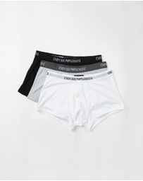Emporio Armani - 3-Pack Trunks