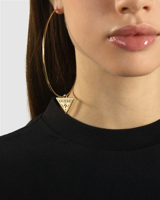 Guess Triangle Hoops - Jewellery (Gold)