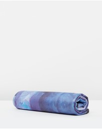 Yellow Willow - Yoga Towel - Violet
