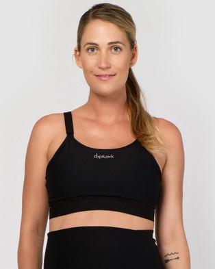 dk active Lily Maternity Bra - Sports Bras & Crops (Black)