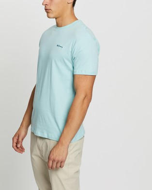 Ben Sherman Chest Embroidery Tee - T-Shirts & Singlets (Bright Mint)