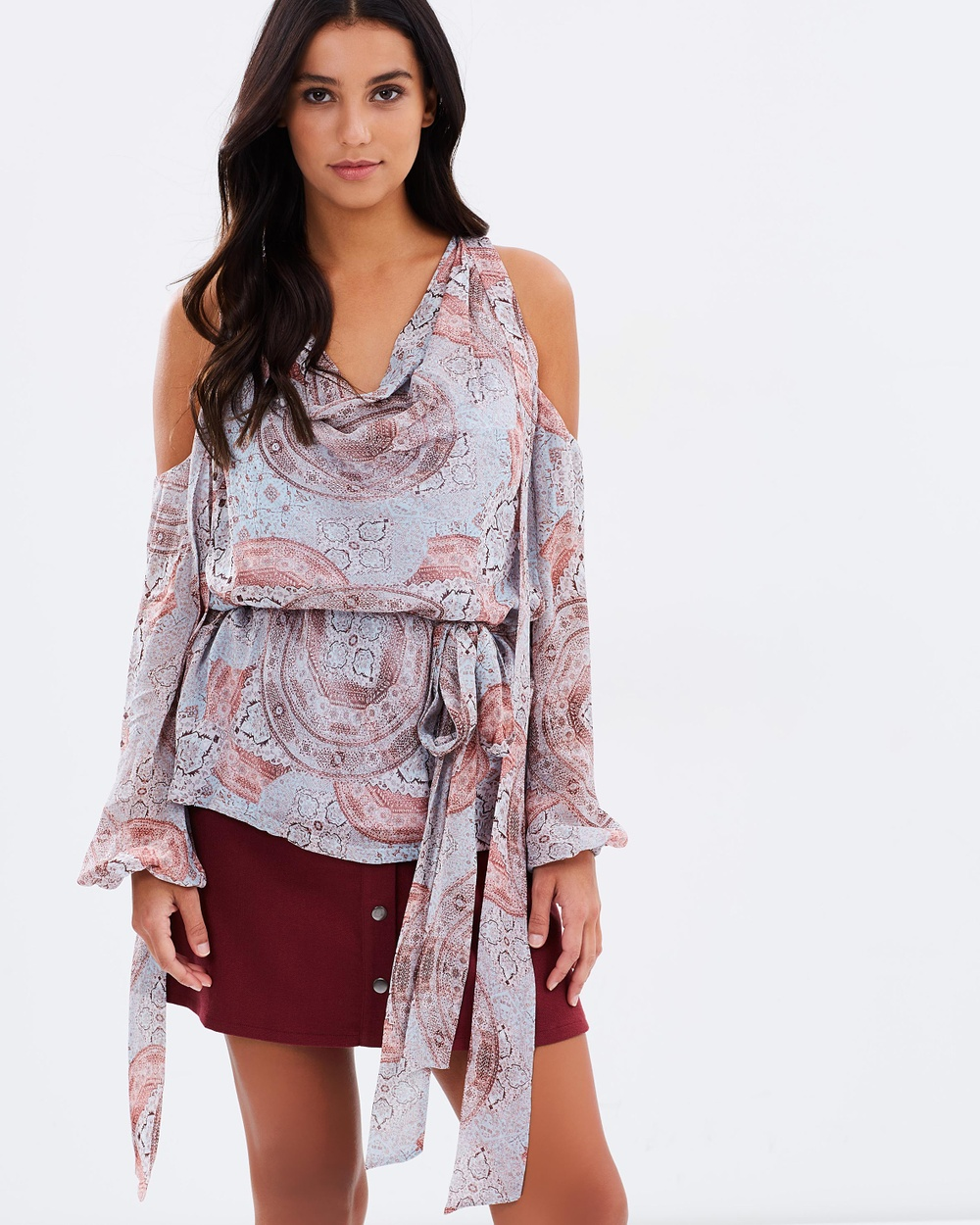 Ministry of Style Sundown Top Tops Sundown Print Sundown Top