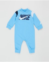 Nike Kids - Colour Blocked Coveralls - Babies