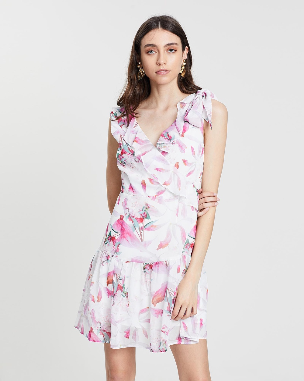 Grace Willow Petal Floral Antonia Dress