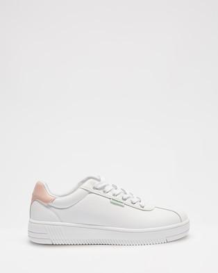 Human Premium Lacey - Sneakers (White & Blush)