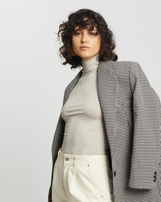 M.N.G Elsa T Shirt - Tops (Light Beige)