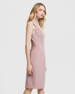 ARIS Curved Seam Dress - Dresses (Pink)