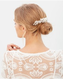 Ivory Knot - May Hair Comb