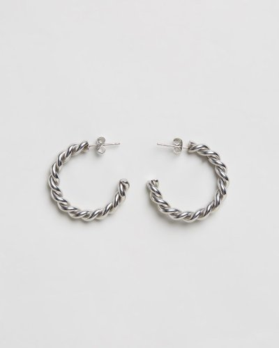 Zephyr Twist Hoops