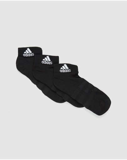 adidas Performance - Cushioned Ankle Socks 3-Pack