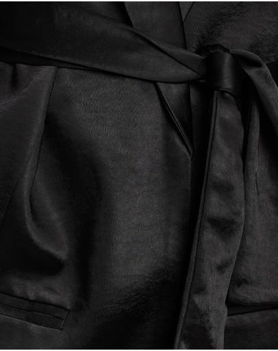 Third Form Wild Flowers Robe Blazer Black