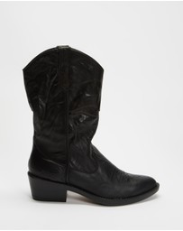 ROC Boots Australia - Indio Leather Boots