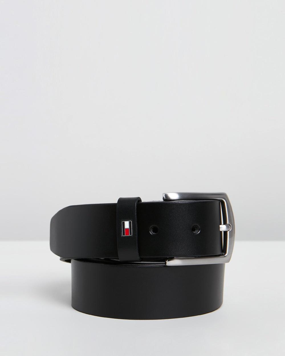 Tommy Hilfiger New Denton Belt Belts Black
