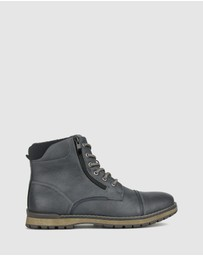 Betts - Forest Lace Up Boots