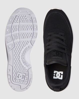 DC Shoes Womens E.Tribeka Platform Shoe - Sneakers (Black)