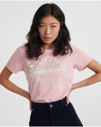 Superdry - Prem Goods Luxe Emb Entry Tee