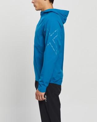 2XU - Light Speed Waterproof Running Jacket Coats & Jackets (Aquamarine Aquamarine Reflect)