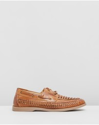 Double Oak Mills - Hurley Woven Deck Shoes
