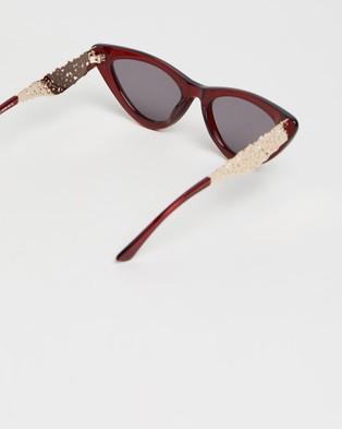 Amber Sceats Genie Glasses - Sunglasses (Red)