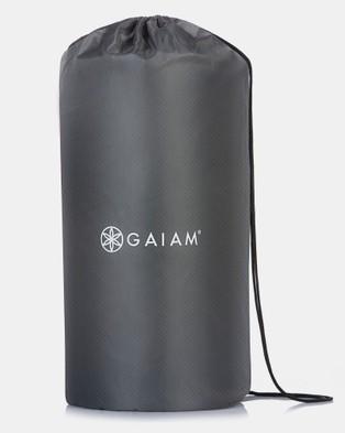 Gaiam Wellness Accupressure Mat and Pillow - Wellness (Grey & White)