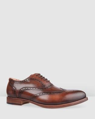 Bared Footwear Sodium 2 Lace up   Men's - Dress Shoes (Dark Tan Iii)
