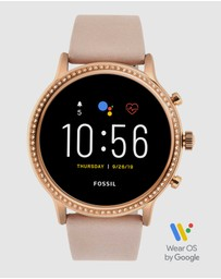 Fossil - Julianna HR Beige Gen 5 Smartwatch