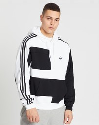 adidas Originals - Asymmetrical Block Hoodie