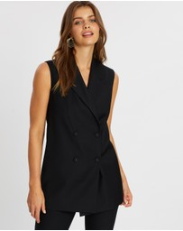 Atmos&Here - Sally Sleeveless Blazer