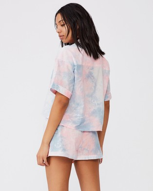 Cotton On Body Washed Woven Sleep Set - Two-piece sets (Multi Tie Dye)