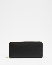 Ted Baker - Leather Zip Around Matinee Purse