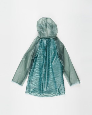 Cotton On Kids Cloudburst Raincoat   Babies Kids - Accessories (Green Zebra)