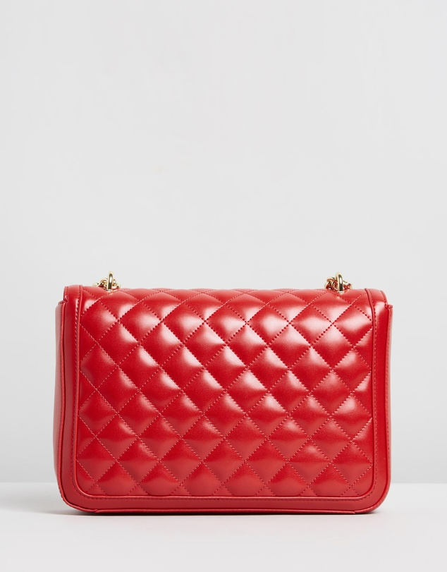 LOVE MOSCHINO - Borsa Quilted Nappa PU Bag
