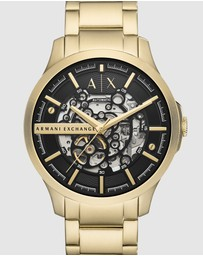 Armani Exchange - Gold-Tone Analogue Watch