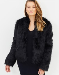 Cooper St - Perry Fur Jacket