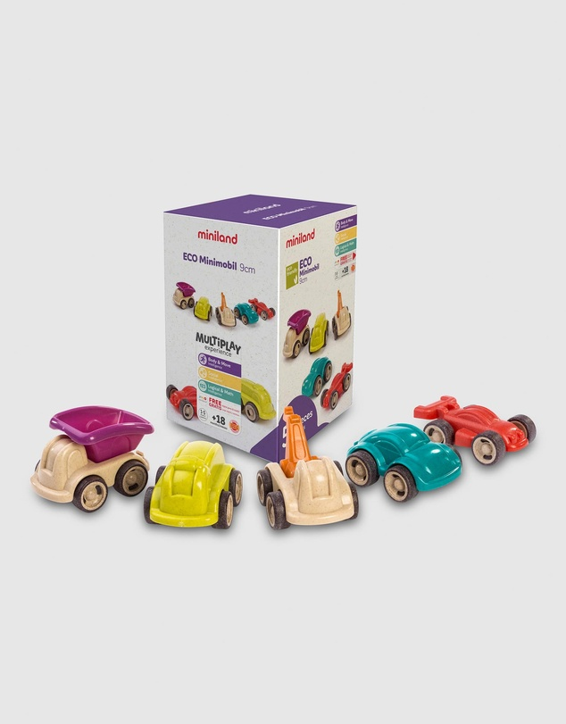 Kids Eco MiniMobil 5 Pieces 12cm