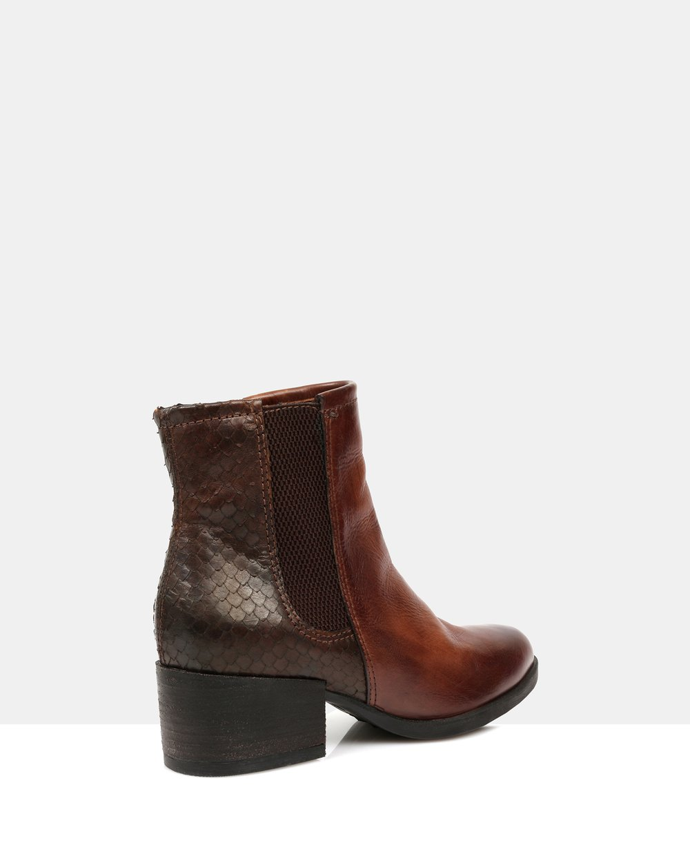 51fae2835a71 Marisa Leather Ankle Boots by Sempre Di Online