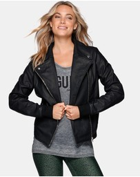 Lorna Jane - Vegan Leather Active Jacket