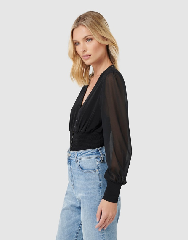 Forever New - Raquel Balloon Sleeve Top