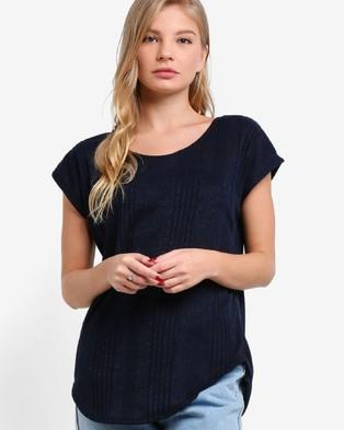 Buy BoyFromBlighty - Knit Tunic Top - Tops (Navy) -  shop BoyFromBlighty swimwear online