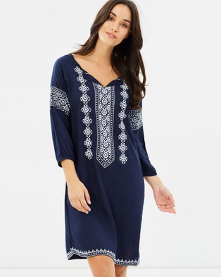 Kaja Clothing – Aurora Dress blue