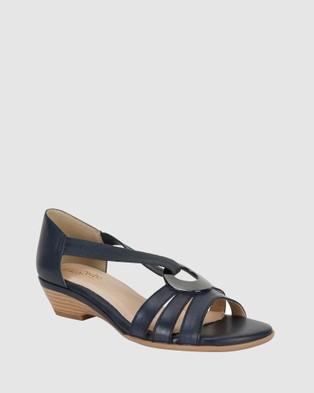 Easy Steps Corina - Sandals (NAVY)