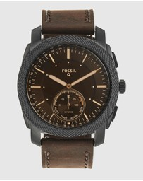Fossil - Hybrid Smartwatch Q Machine Brown