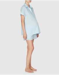 Jasmine and Will - Maternity Short Set with Shirred Waistband