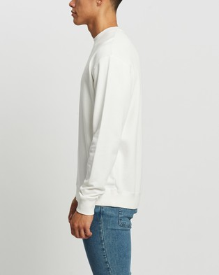 Assembly Label Pullover Sweat Sweats Antique White