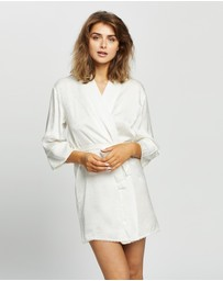 Papinelle - Silk Hearts Short Robe