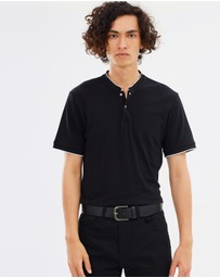 The Kooples - Skull Button Polo Shirt
